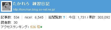 30万ヒット! 感謝ですm(_ _)m.JPG